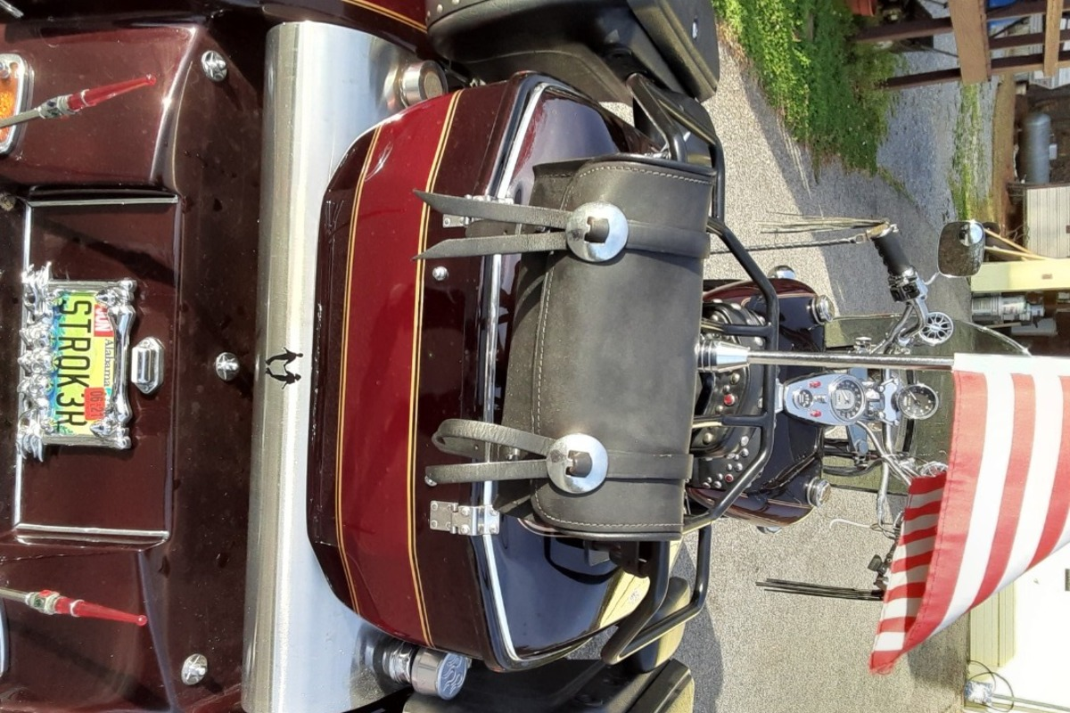1994 Harley-Davidson Custom V8 Trike, 3