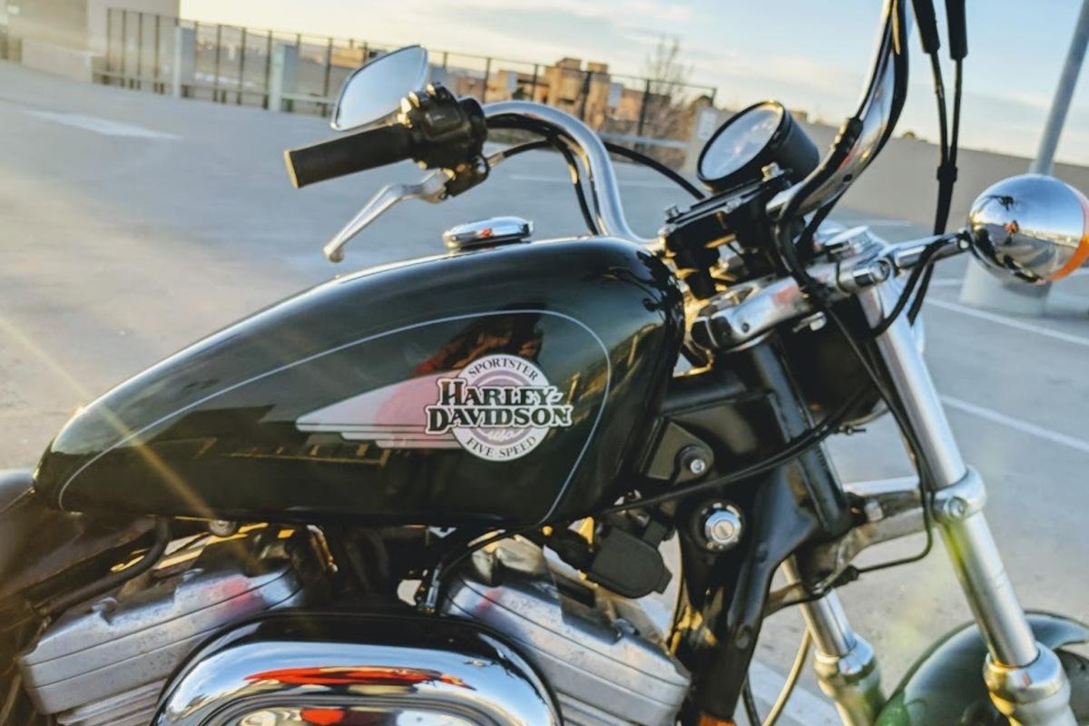1996 Harley-Davidson Sportster 883, 4