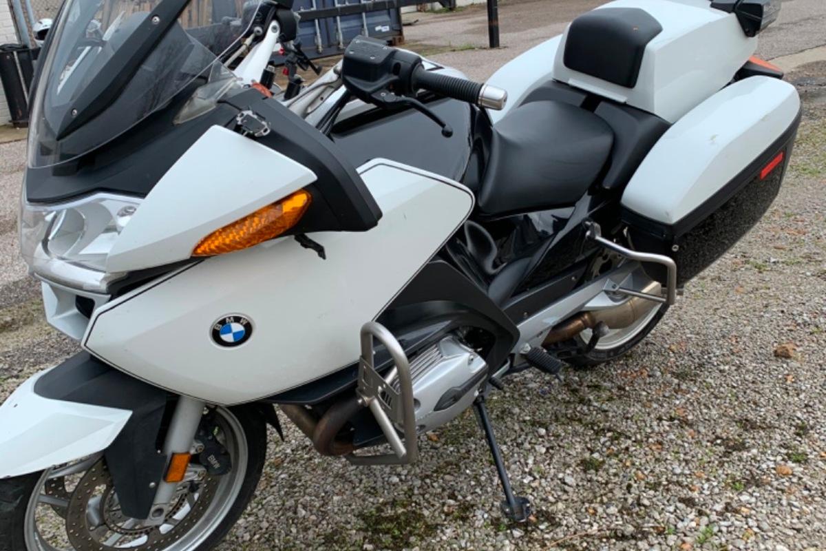 2009 BMW R 1200 P, 1