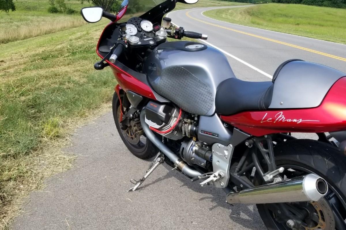 2002 Moto Guzzi V11 LeMans, 0