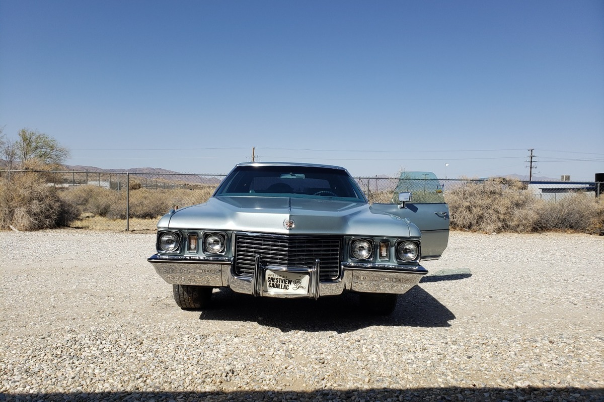 1972 Cadillac Fleetwood Sixty Six Special Brougham, 0