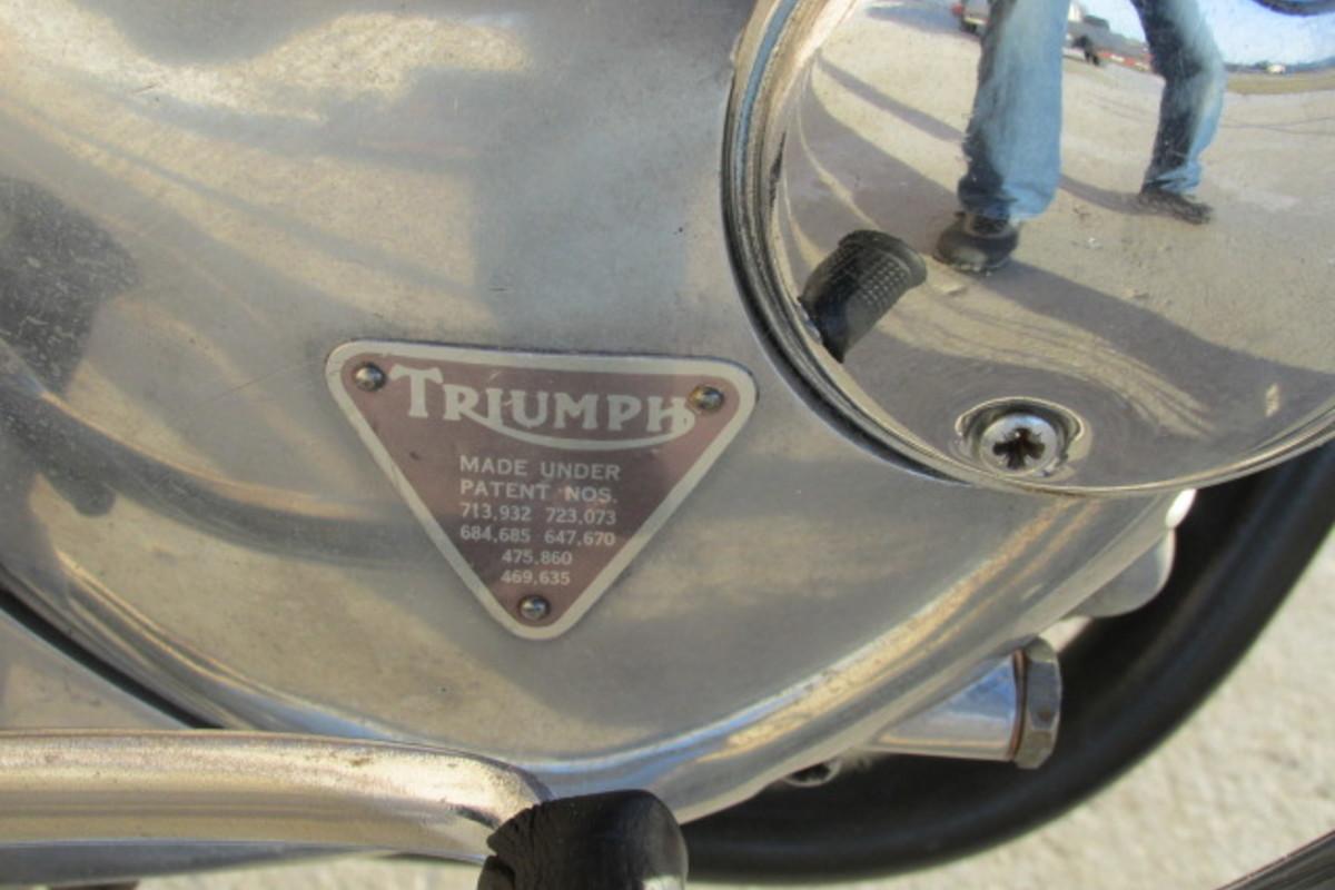 1966 Triumph Tiger 650cc, 10