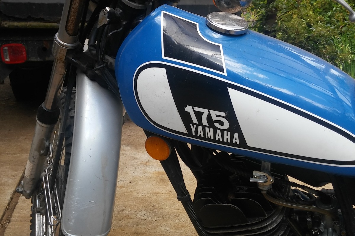 1975 Yamaha DT175, 8