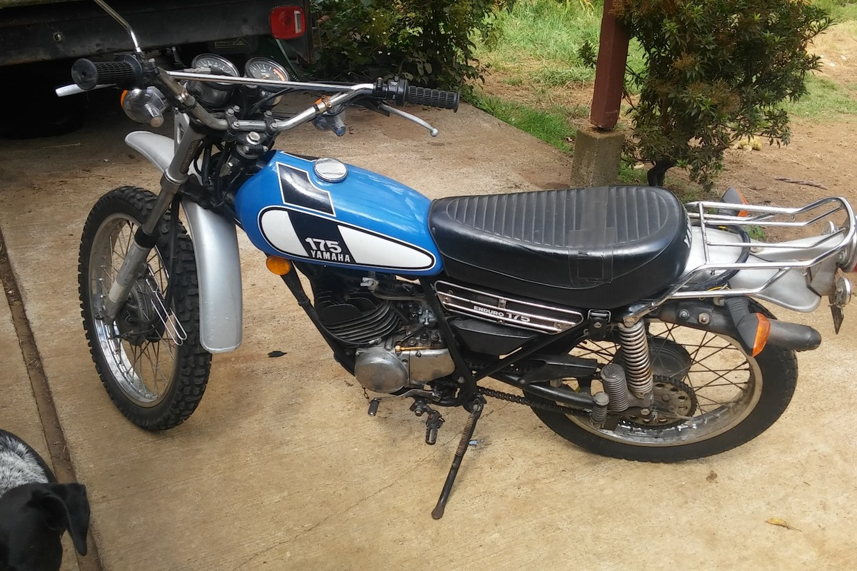 1975 Yamaha DT175, 1