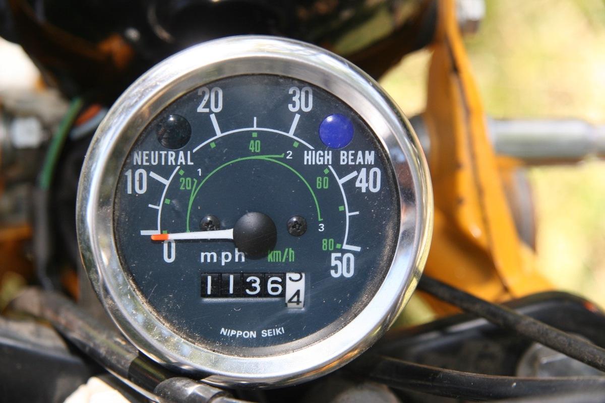 1979 Honda CT70, 1