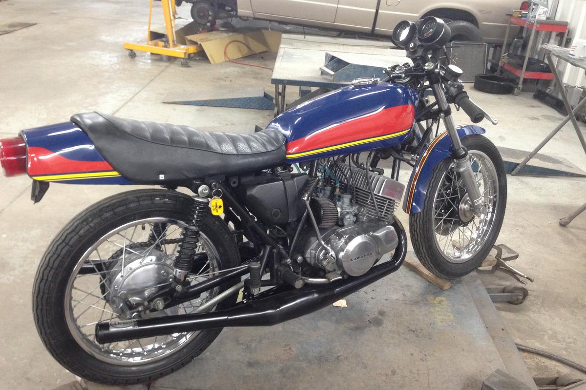 1974 Kawasaki H1E, 2
