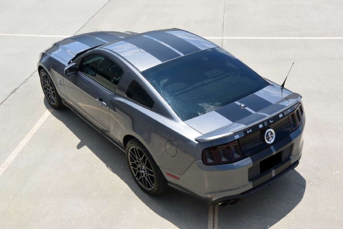 2013 Ford Mustang Shelby GT500, 6