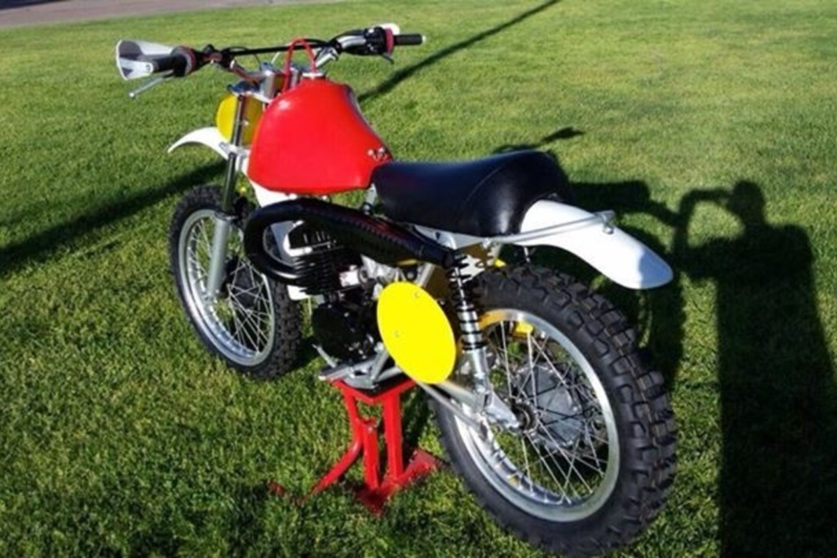 1970 Husqvarna 400 Cross, 1
