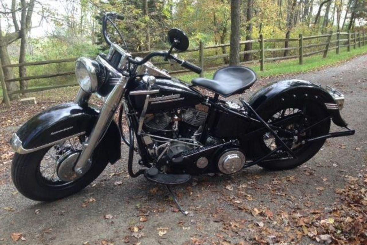 1952 Harley Davidson Panhead, 0