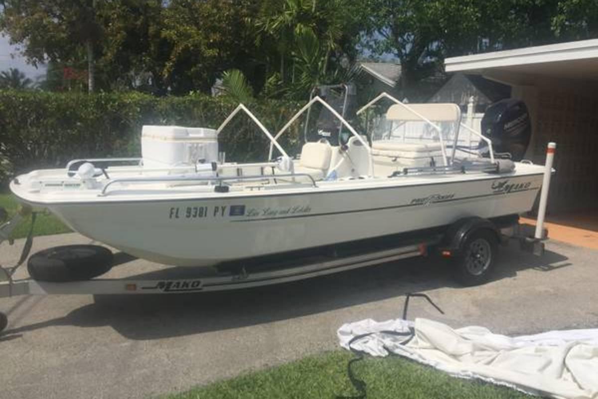 2013 Mako Boats 17 Pro Skiff, 2