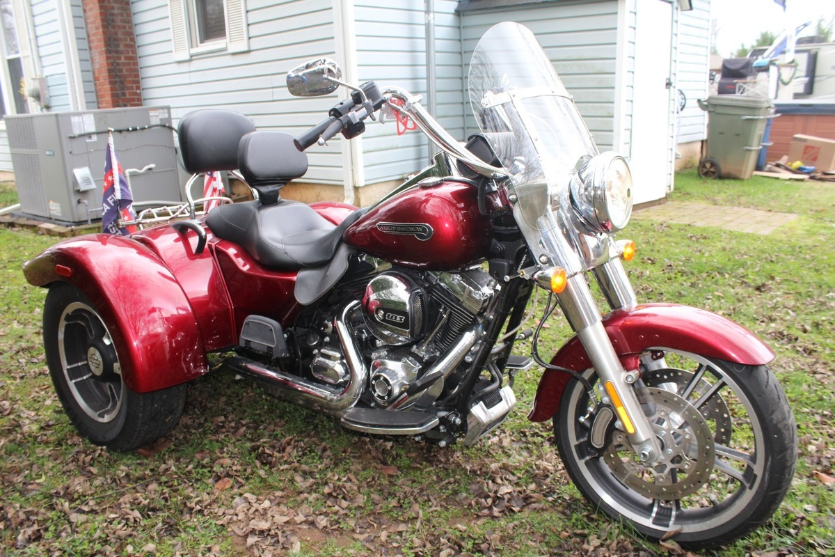 2016 Harley Davidson Freewheeler Freewheeler, 0