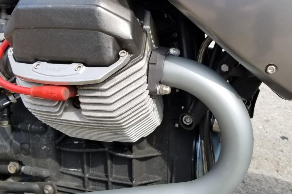 2002 Moto Guzzi V11 LeMans, 7