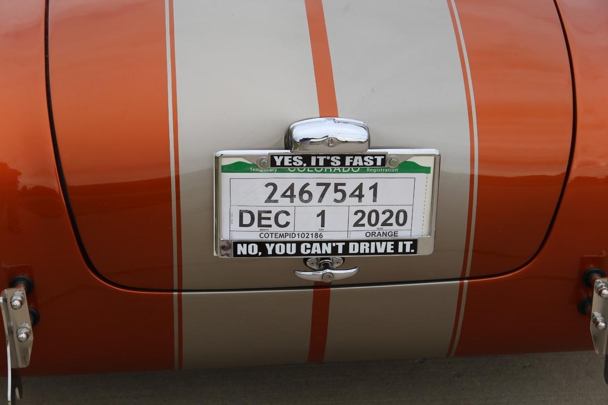 2020 Backdraft Shelby Cobra 1965 Replica Roadster, 7