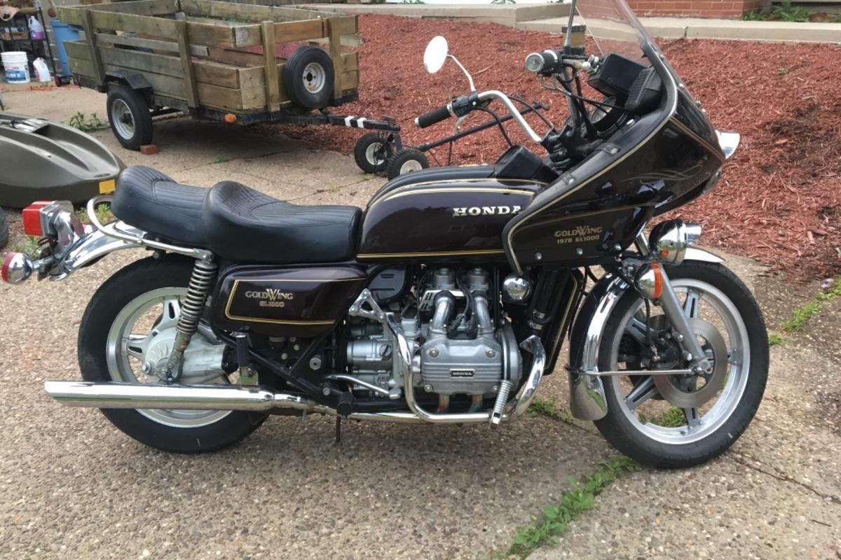 1978 Honda Goldwing, 1
