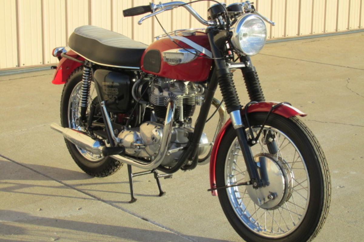 1966 Triumph Tiger 650cc, 2
