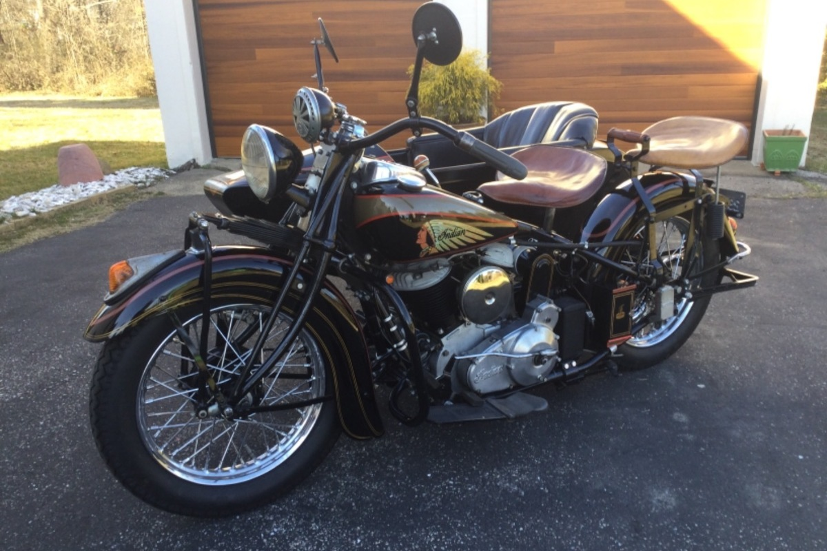 1939 Indian Motorcycle Chief, 10