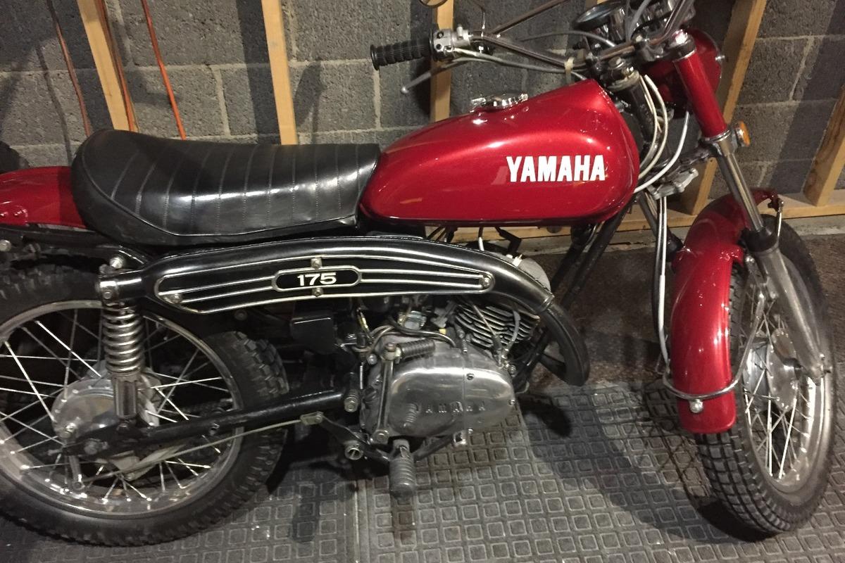 1972 YAMAHA CT 175, 2