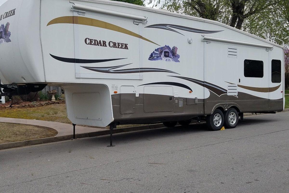2012 Forest River Cedar Creek 34RSLA, 1
