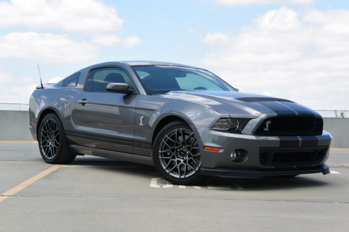 2013 Ford Mustang Shelby GT500, 10