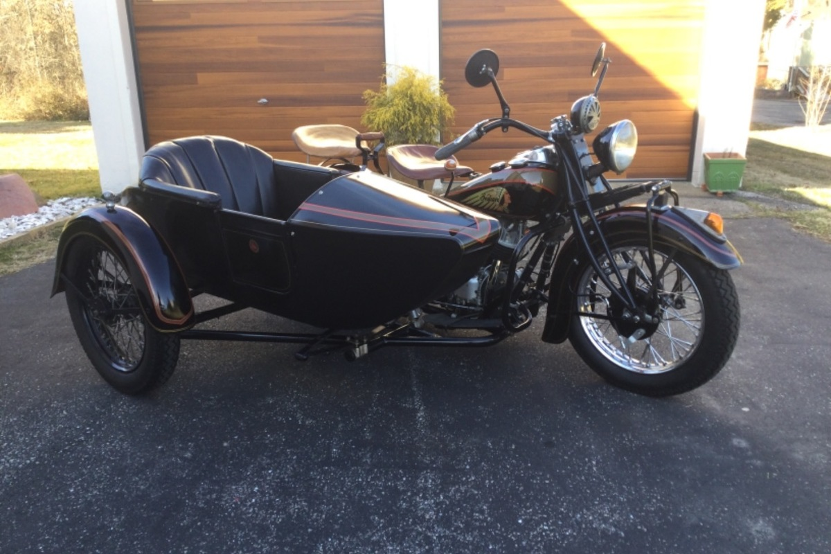 1939 Indian Motorcycle Chief, 6