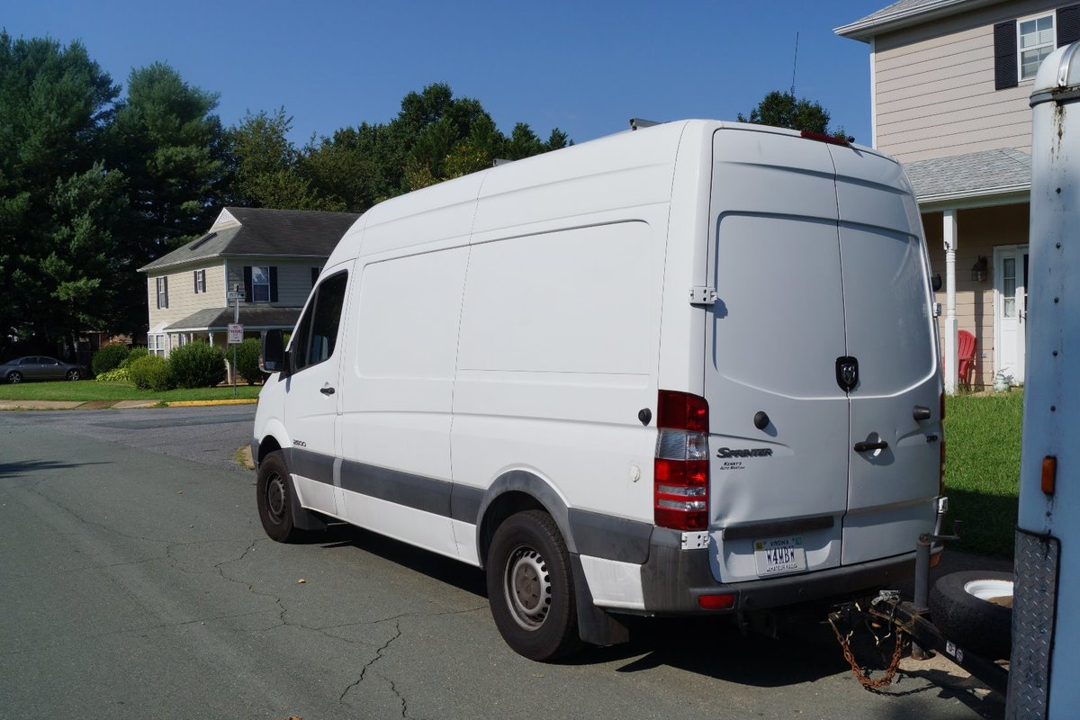 2007 Dodge Sprinter 2500 Diesel RV Conversion Van White, 2