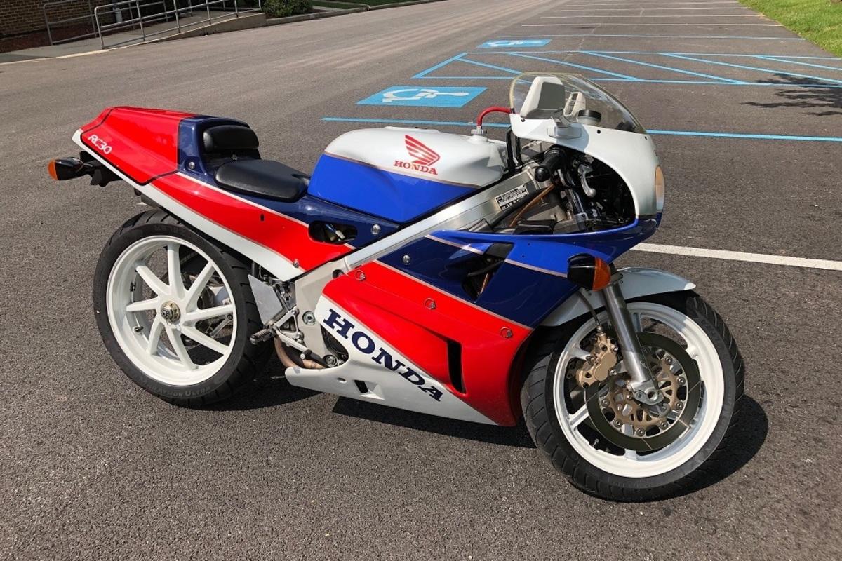 1990 Honda VFR750R  RC30, 1
