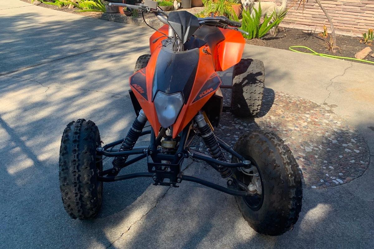 2008 KTM 525 XC ATV, 0