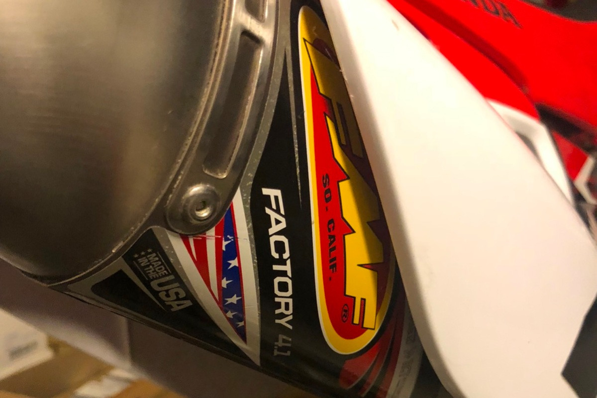 2008 Honda CRF450R, 1