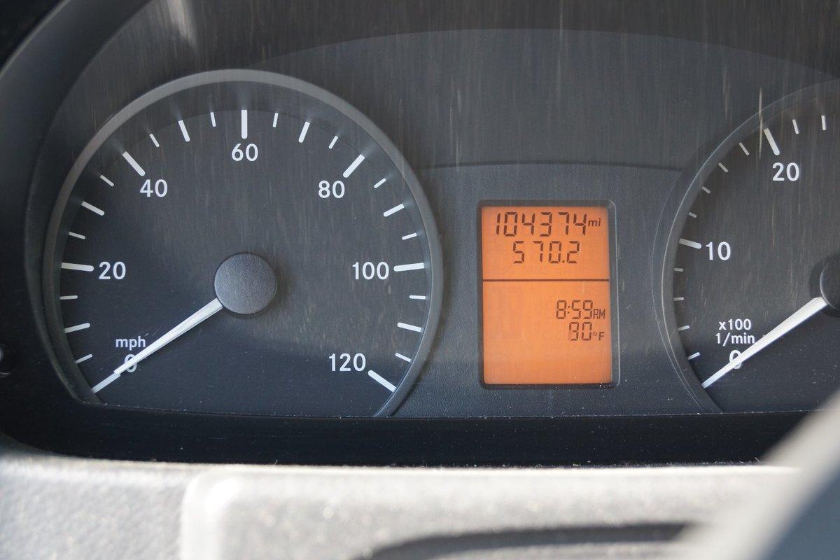 2007 Dodge Sprinter 2500 Diesel RV Conversion Van White, 13