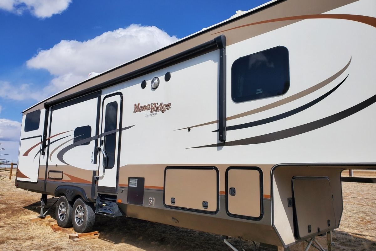 2017 Open Range Highland Ridge Mesa Ridge 367BHS, 0
