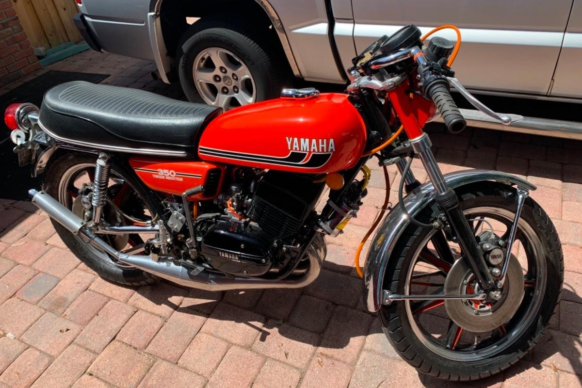 1975 Yamaha RD 350, 0
