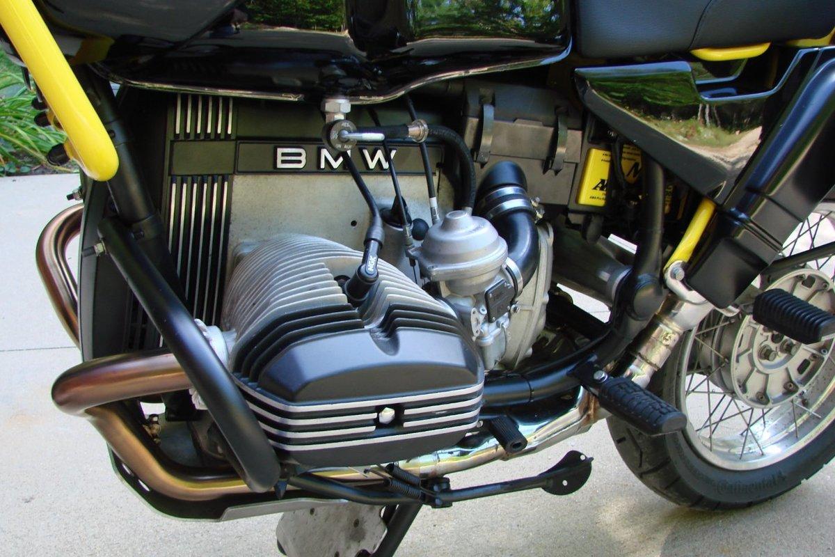 1993 BMW R100 GS Bumblebee, 9