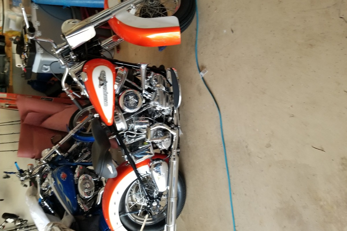 1956 Harley-Davidson Panhead, 1
