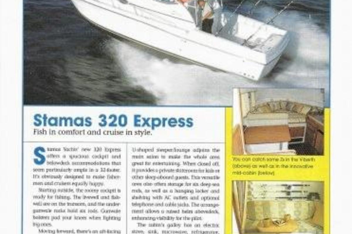 2003 Stamas 320 Express, 2