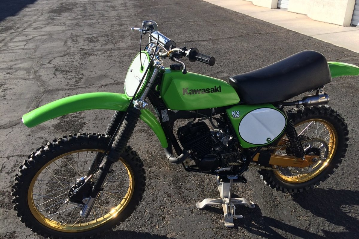 1978 Kawasaki A4 KX 125, 4