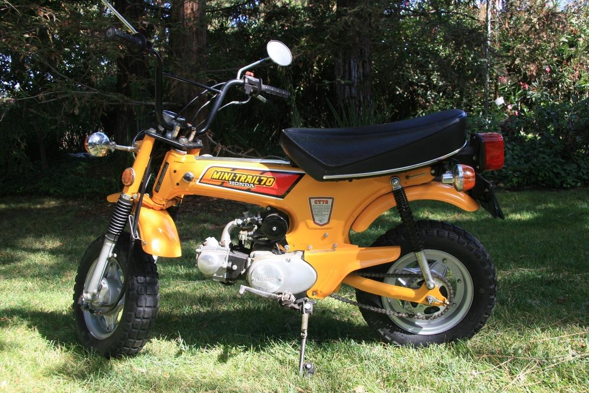 1979 Honda CT70, 3