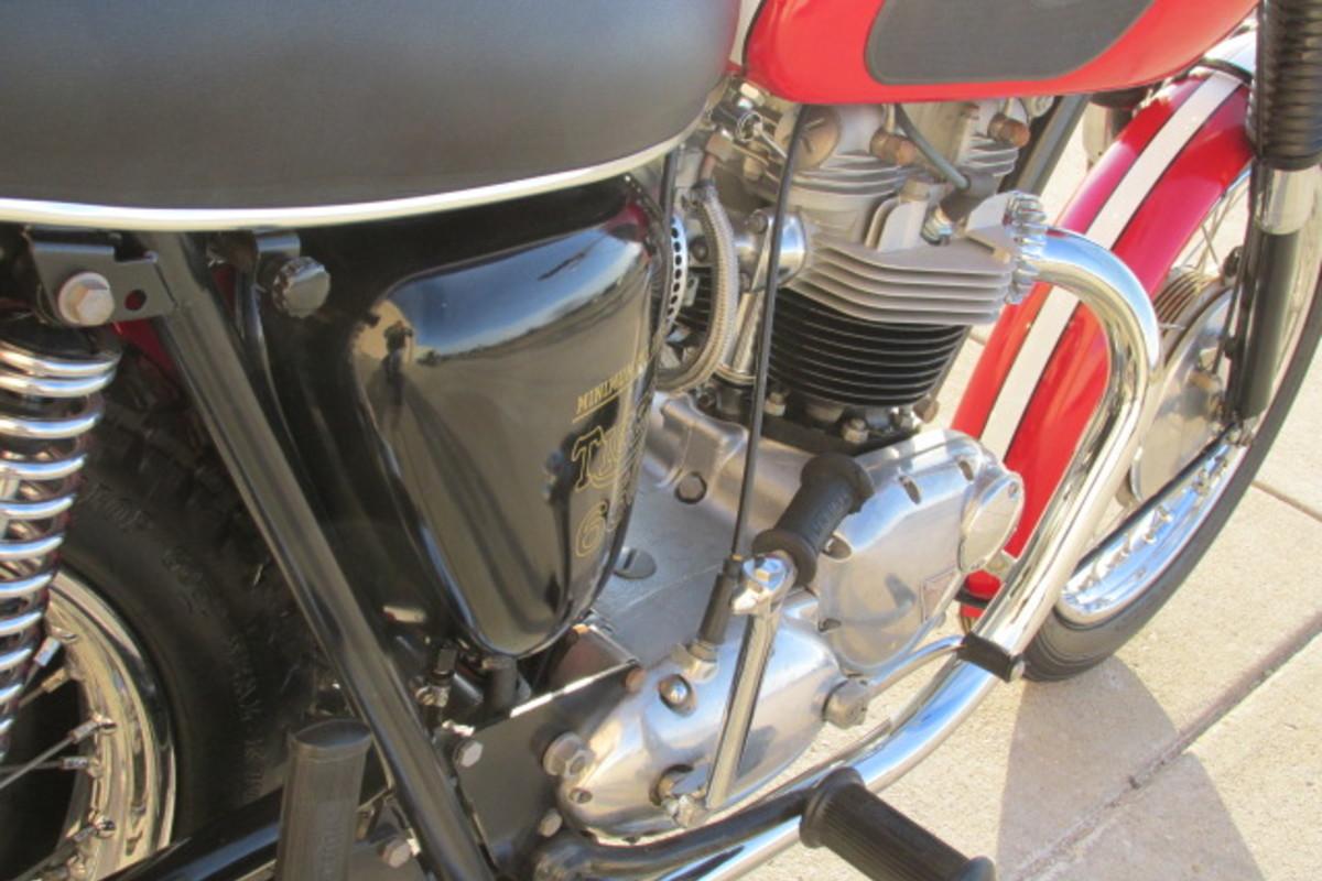 1966 Triumph Tiger 650cc, 5
