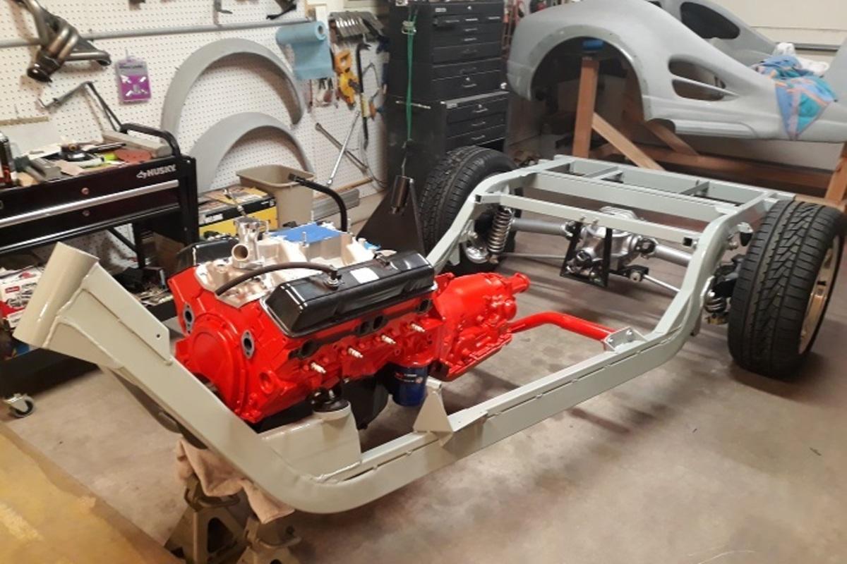 2021 Custom Trike V8 Trike, 4