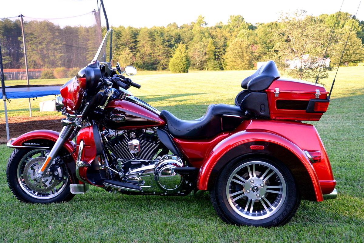 2012 Harley Davidson Tri-Glide Ultra, 1