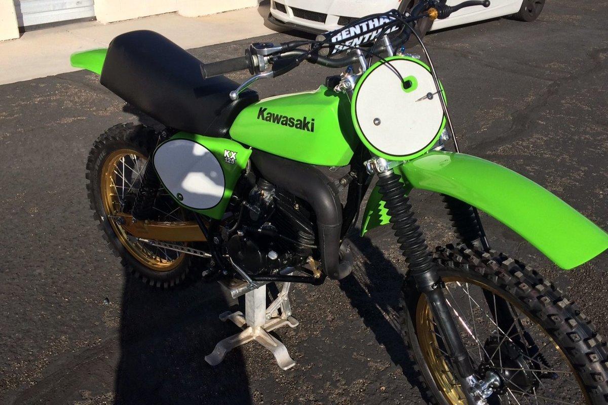 1978 Kawasaki A4 KX 125, 3