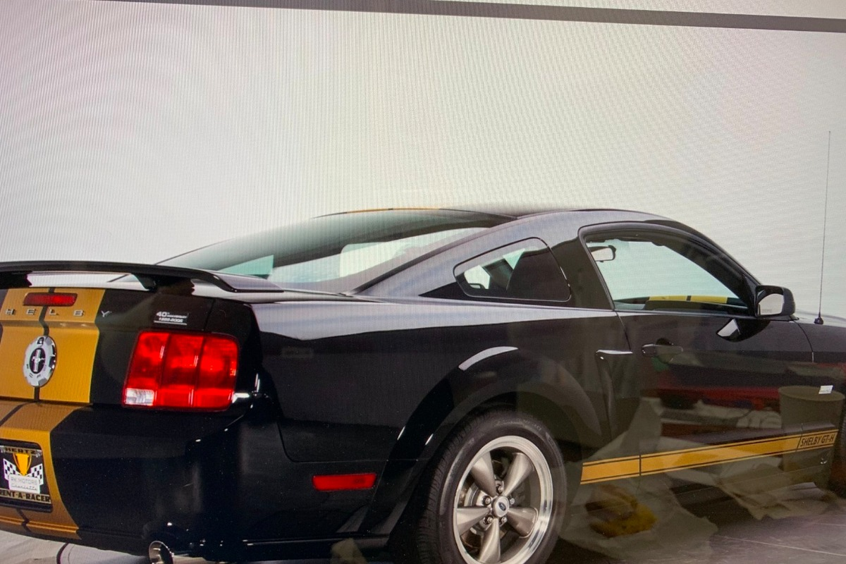 2006 Ford Mustang Shelby GT-Hertz, 0