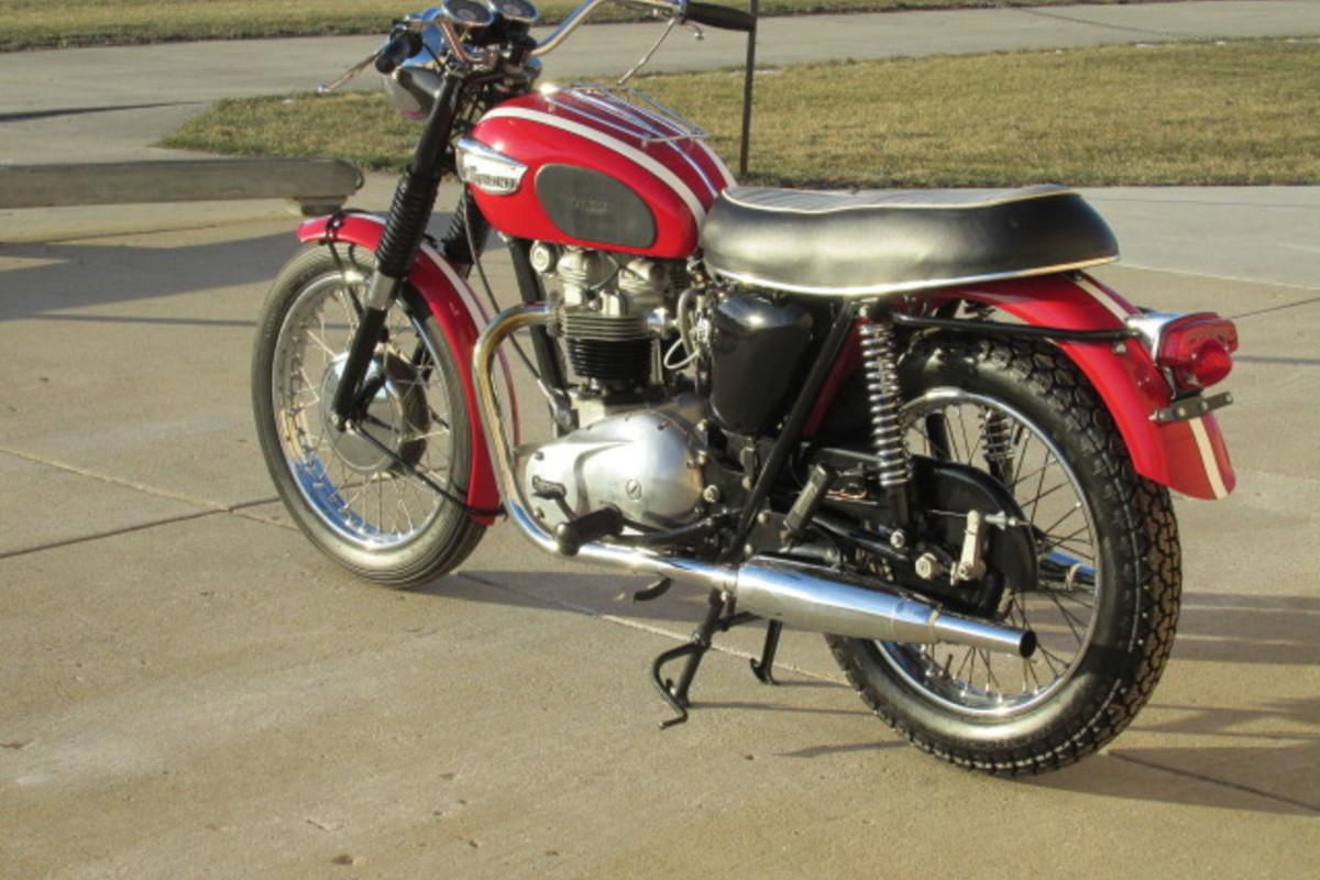 1966 Triumph Tiger 650cc, 1
