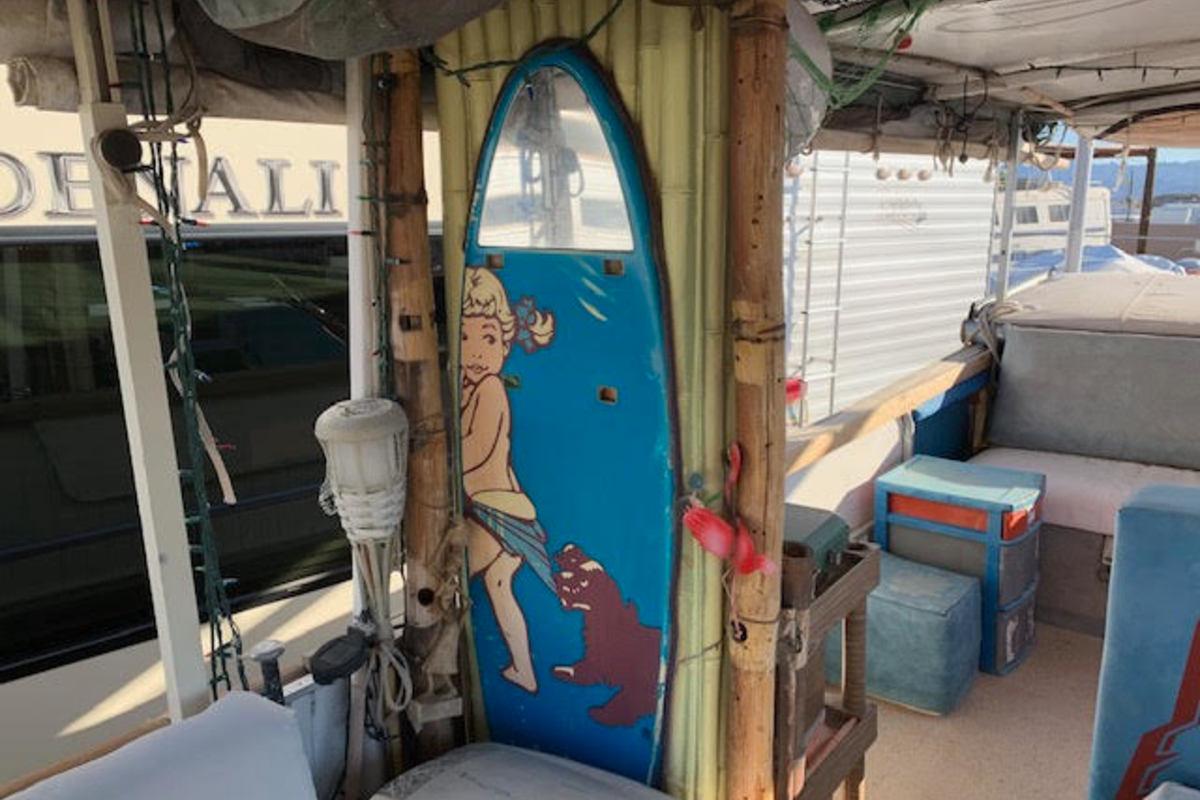 1970 Starcraft Marine Party Barge, 8