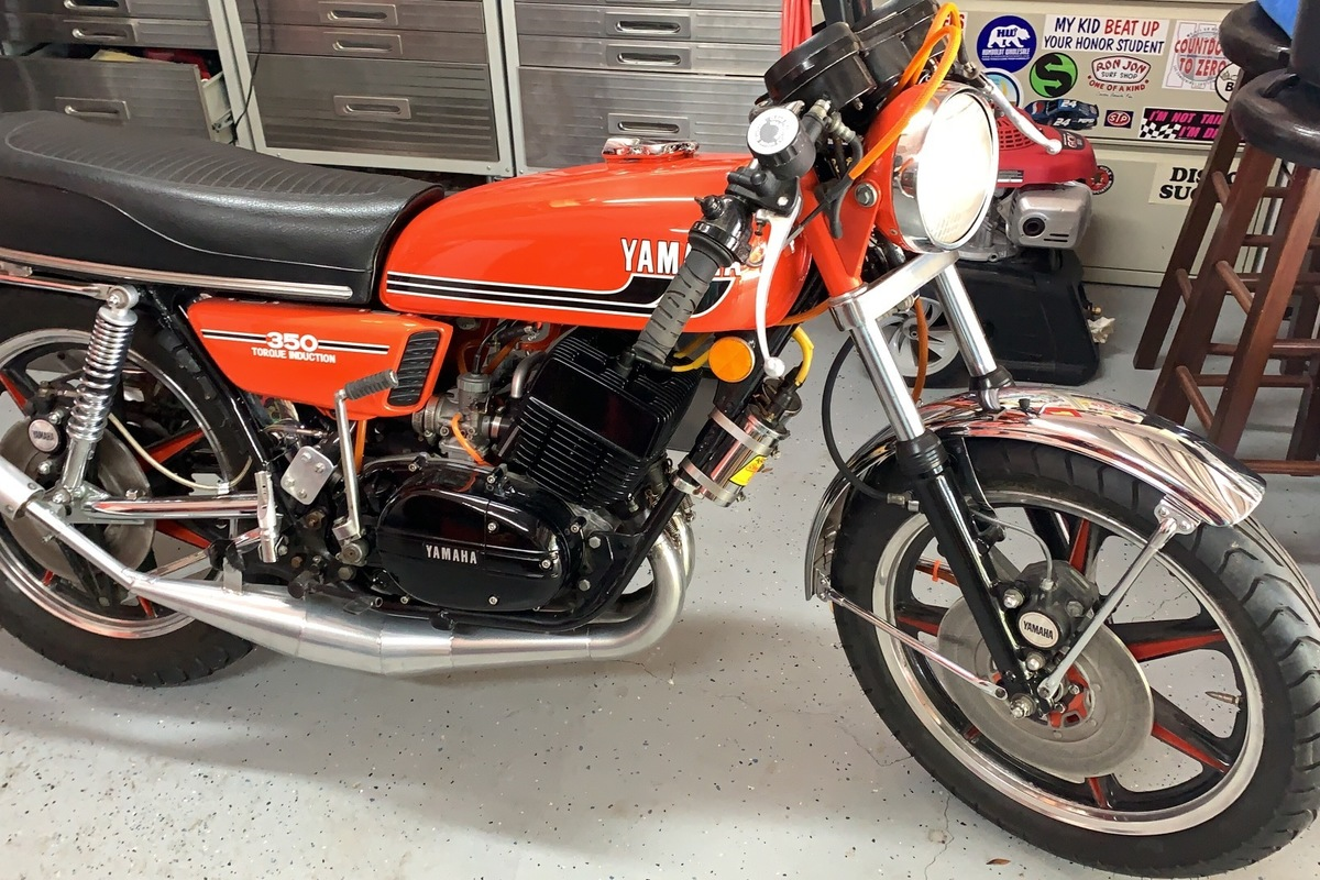 1975 Yamaha RD 350, 1