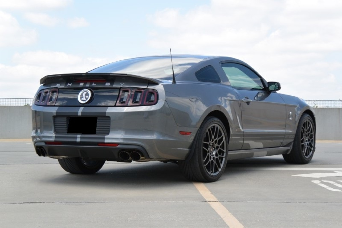 2013 Ford Mustang Shelby GT500, 8