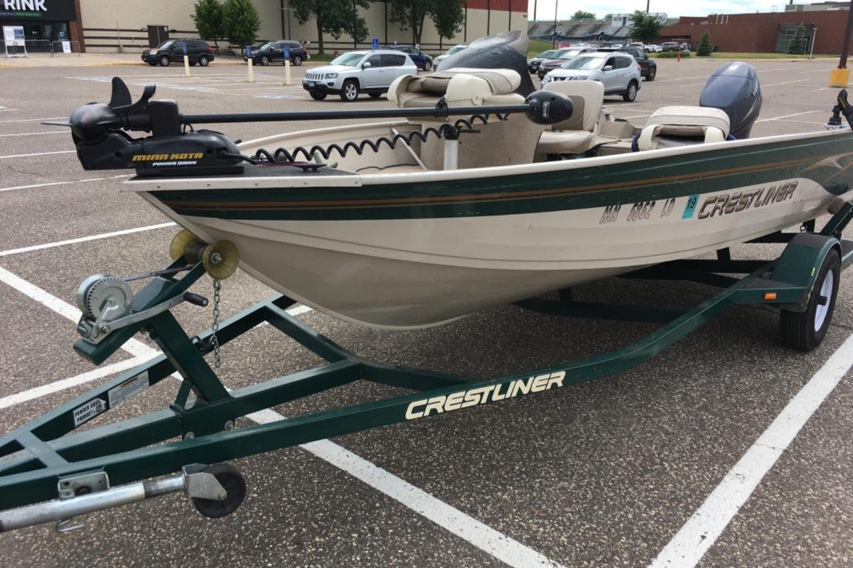 2002 Crestliner 1600 Angler SC, 0