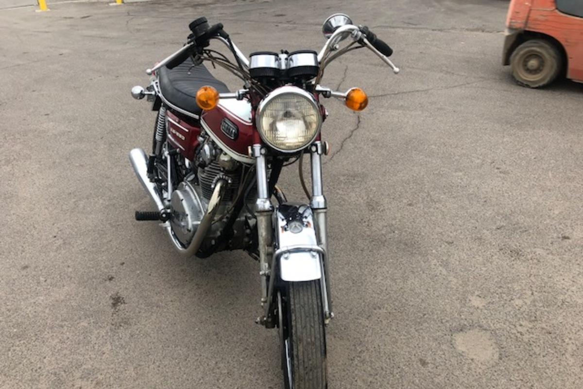 1972 Yamaha XS650, 1