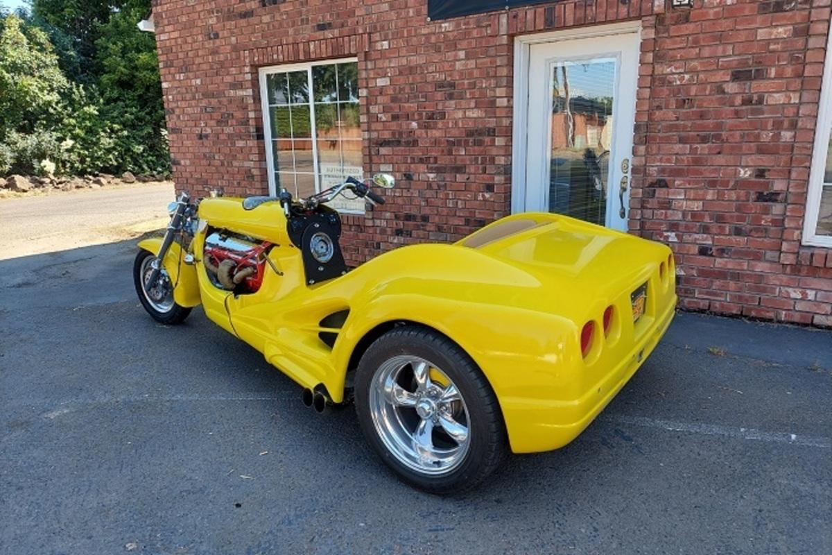 2021 Custom Trike V8 Trike, 3