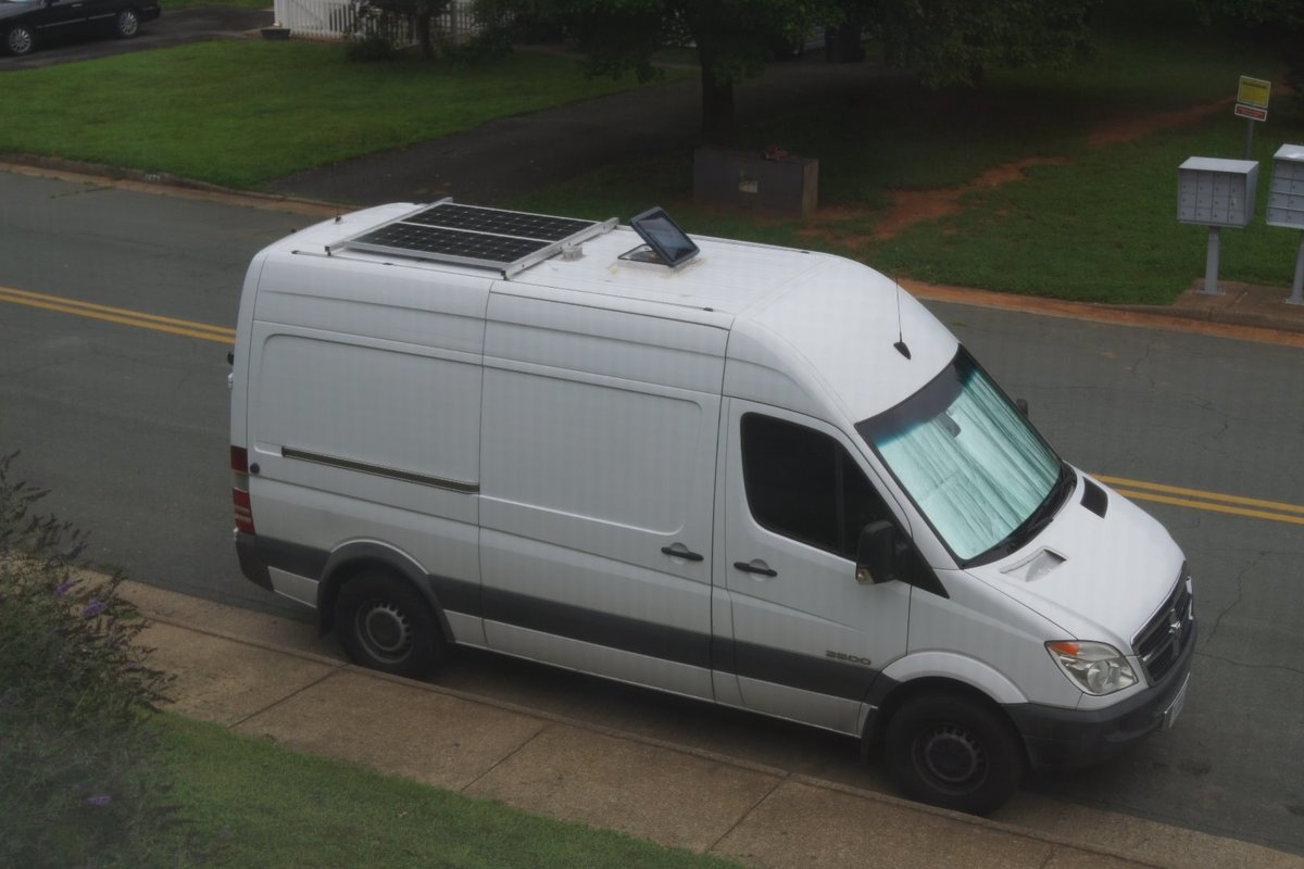 2007 Dodge Sprinter 2500 Diesel RV Conversion Van White, 6