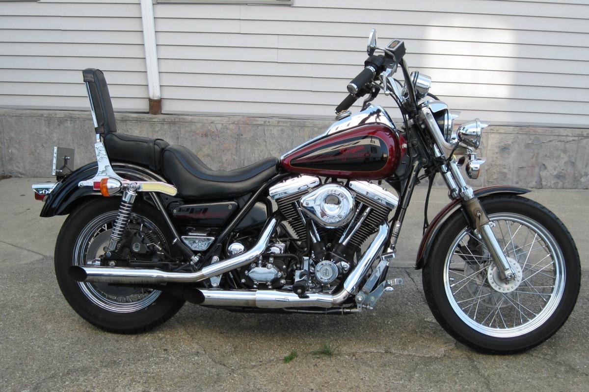 1986 Harley-Davidson low rider, 1